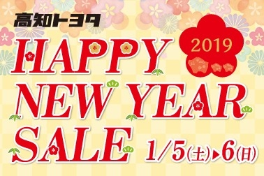 Happy New Year SALE 2019